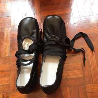 Anteprima Ballet Black Leather Shoes