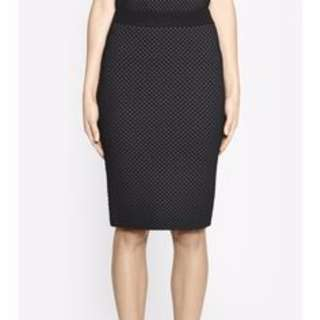 Camilla & Marc Billie Holiday Skirt in Black AU Size S