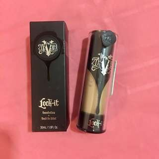 Authentic Kat Von D Lock It Foundation
