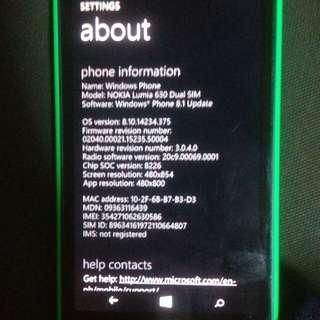 Nokia 630 dual sim