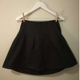 Topshop Skirt with Lace Detail