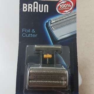 NEW BRAUN foil and cutter