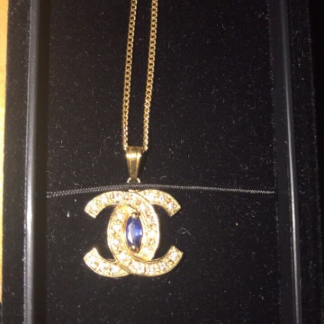 18k solid gold necklace