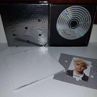 EXO Overdose w photocard
