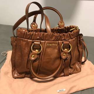 MiuMiu Brown Colour Purse