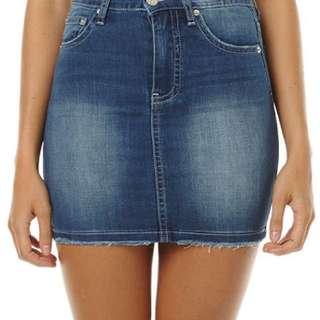 Ziggy Denim Mini Skirt