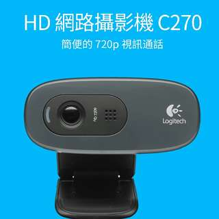 Logitech 羅技 網路攝影機C270