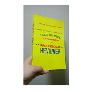 Career Civil Service Exam Reviewer