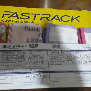 SHIPPED & DELIVERED!  Thankyou Ms Natasha for the trust