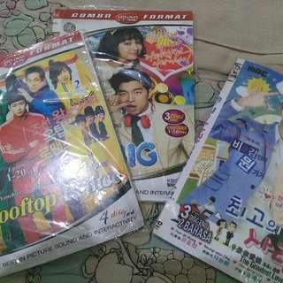 DVD series korea