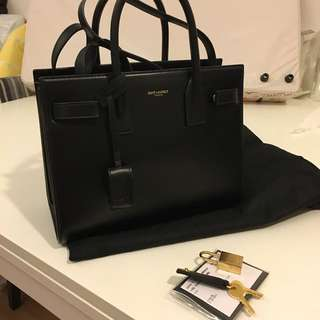Saint Laurent YSL Sac De Jour 手提 斜揹袋