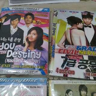 DVD series Korea 4 judul film