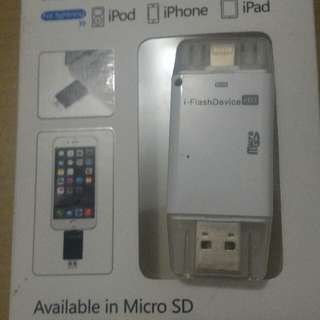 OTG I-Flash Device Extern For Iphone 5,6,7
