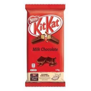 [AUSSIE CHOCS] Kitkat Milk Chocolate Block (170g)