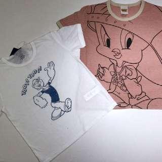 SOLD-Tweetie Bird/Popeye Cotton On brand
