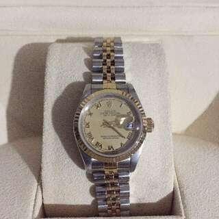 Authentic Rolex Datejust