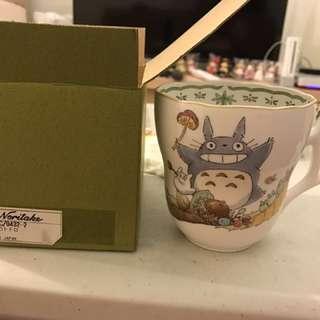 🚚 龍貓豆豆龍骨瓷馬克杯