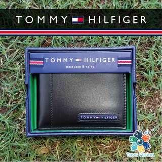 全新 Tommy Hilfiger Men's Leather Wallet 真皮銀包 黑色