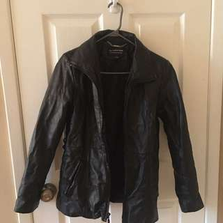 Fairweather leather jacket