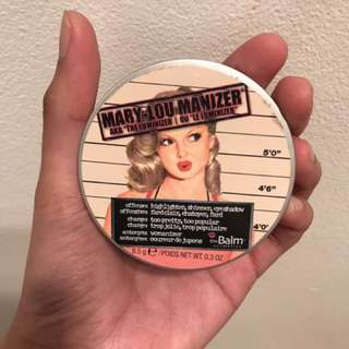 Mary loumanizer highlighter