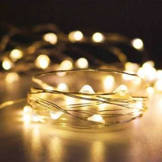 LED fairy lights! 💡💡💡