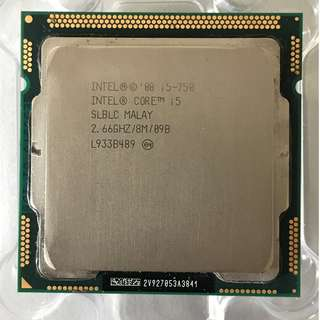 Intel Core i5-750 2.66GHz CPU with Stock Fan