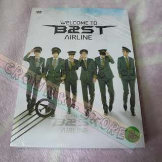 [LAST PC][ULTRA RARE & LIMITED][READY STOCK 1PC]BEAST B2ST KOREA CONCERT WELCOME TO B2ST AIRLINE DVD(NO POSTER) SEALED ! NEW!OFFICIAL ORIGINAL FROM KOREA (PRICE NOT INCLUDE POSTAGE)PLEASE READ DETAILS FOR MORE INFO