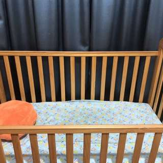 Cot Bed Convert To Toddler Bed