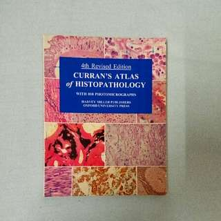 Medical Textbook : Curran's Atlas Of Histopathology