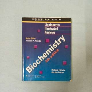 Medical Textbook : Lippincott's Illustrated Review Biochemistry