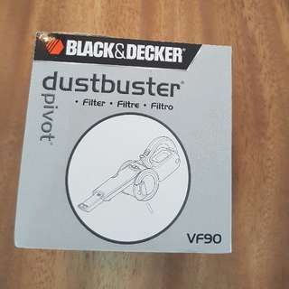 Black and Decker VF90 Dust filter bag