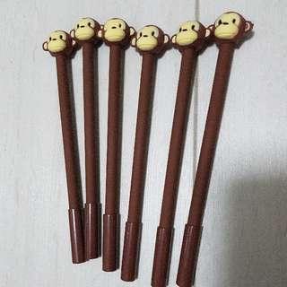Cute Monkey Pens