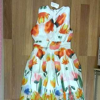 Brand New With Tag- Maxi Floral Dress