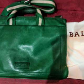 Bally Green Bag authentic
