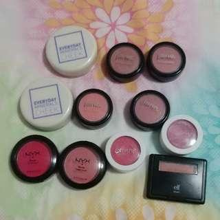 Free Makeup- Round 2 blushes
