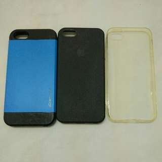 3 Pieces iPhone 5, 5S, SE Hard Case/Cover