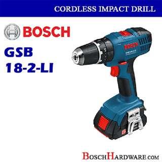 Bosch Impact Cordless Drill 18V