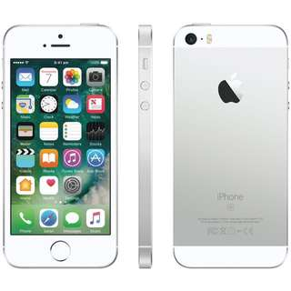 iPhone SE silver 16gb