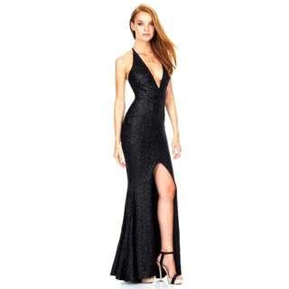 Brand New - Deep V Sexy Sequins Dress