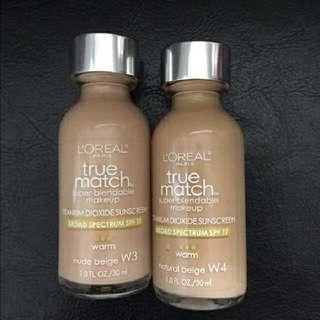 L'oreal true match blending makeup