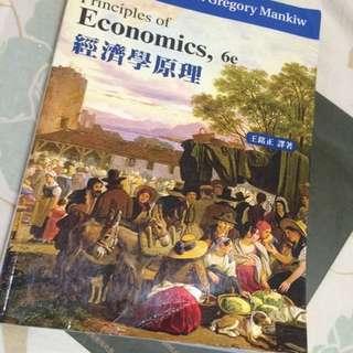 經濟學原理 六版 王銘正譯