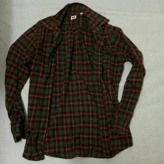 Uniqlo Flannel Long Sleeve Size M