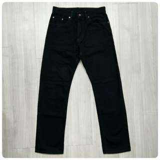 levis Levi's 00505-2959 W32L31 黑色直筒牛仔褲 505 512 523