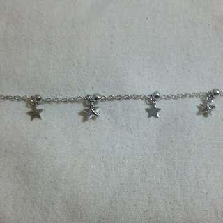 Star shape bracelet