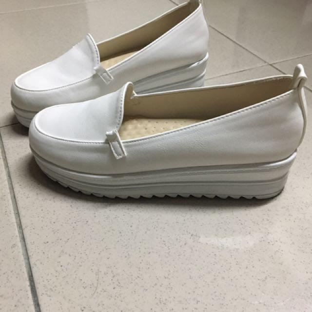 懶人鞋 白色