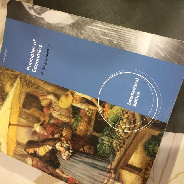 原文書 經濟學原理 六版 Principle of Economics 6th Edition 6e 近全新