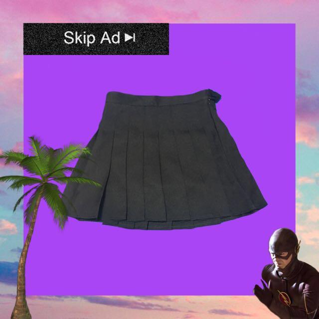 🚧特價🉐️黑色百摺裙 全新 M號🏁