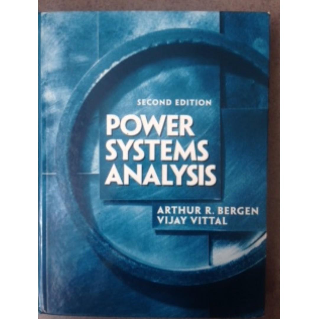 原文 power system analysis #教科書出清