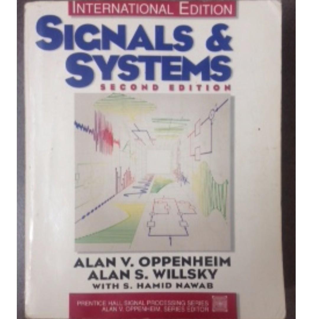 原文 SIGNALS & SYSTEMS  #教科書出清 電機系