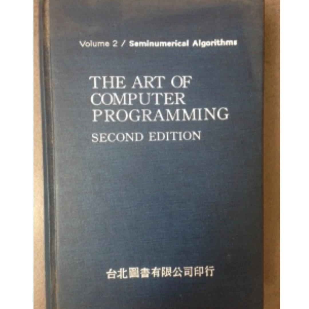 原文 THE ART OF COMPUTER PROGRAMMING #教科書出清 電機系